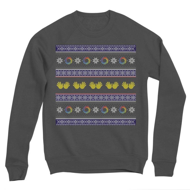 Flappy Holidays Sweater Women's Sponge Fleece Sweatshirt by Autistic Self Advocacy Network Shop