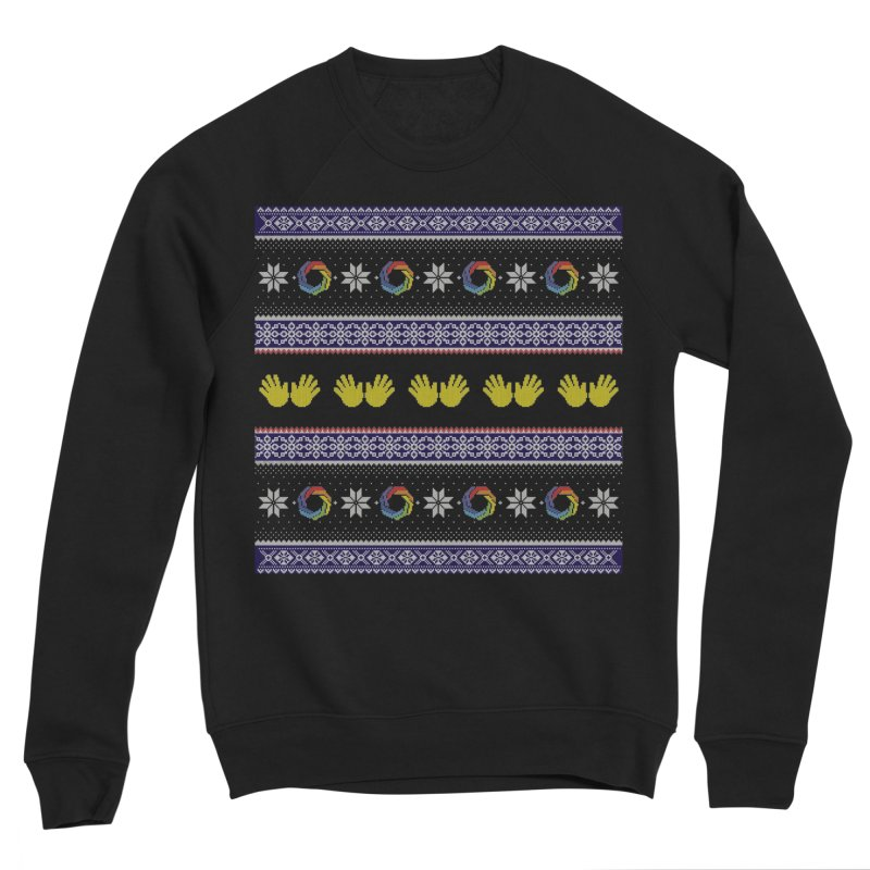 Flappy Holidays Sweater Men's Sweatshirt by Autistic Self Advocacy Network Shop
