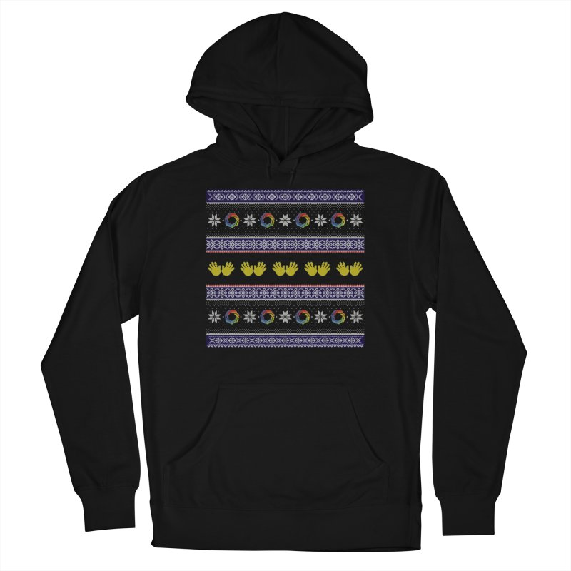 Flappy Holidays Sweater Men's French Terry Pullover Hoody by Autistic Self Advocacy Network Shop