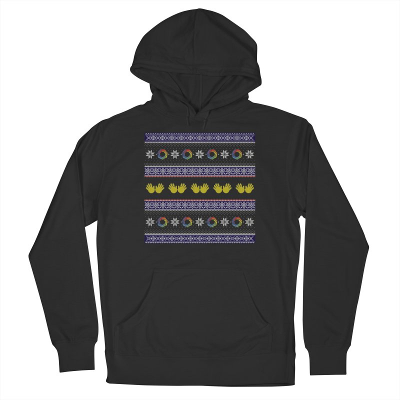 Flappy Holidays Sweater Women's French Terry Pullover Hoody by Autistic Self Advocacy Network Shop
