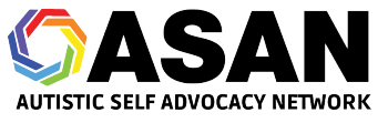 Autistic Self Advocacy Network Shop Logo