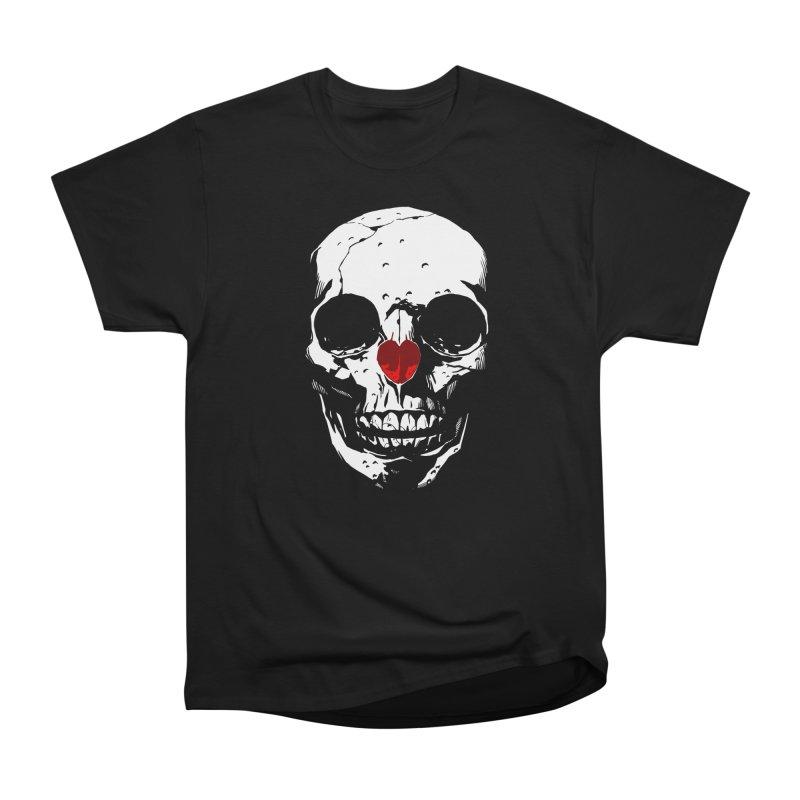 Macabre Valentine [light on dark] in Men's Heavyweight T-Shirt Black by automaton's Artist Shop