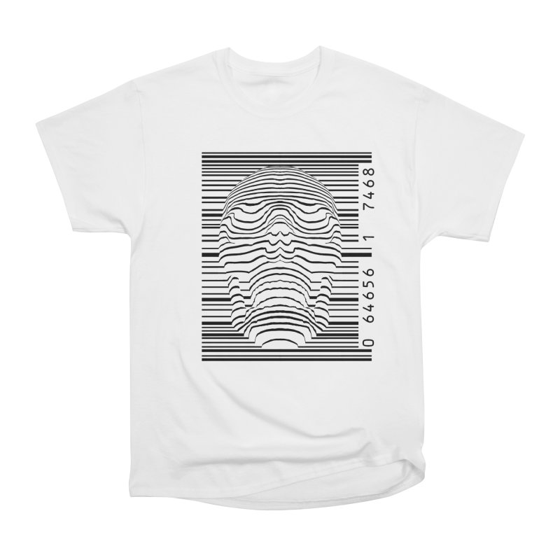 Product of Our Time [dark on light] in Men's Heavyweight T-Shirt White by automaton's Artist Shop