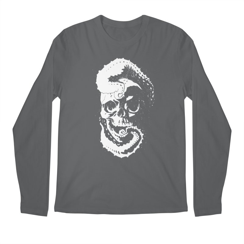 Sleeping with the Deep Ones [light on dark] Men's Regular Longsleeve T-Shirt by automaton's Artist Shop