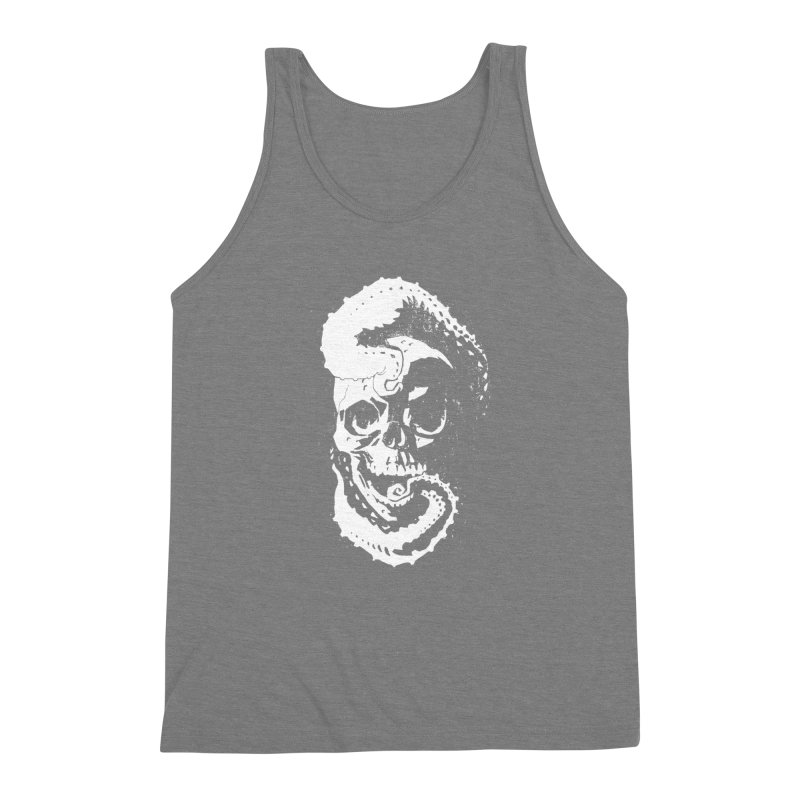 Sleeping with the Deep Ones [light on dark] Men's Triblend Tank by automaton's Artist Shop