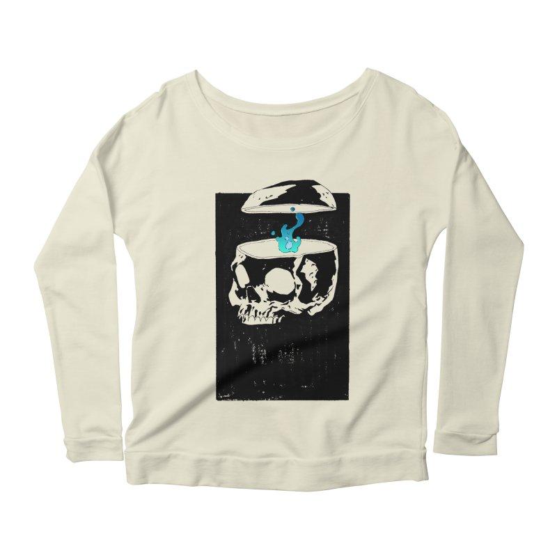 Cerebral Essence Women's Scoop Neck Longsleeve T-Shirt by automaton's Artist Shop