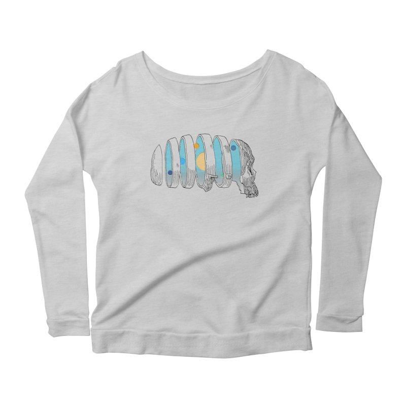 Cranial System Women's Scoop Neck Longsleeve T-Shirt by automaton's Artist Shop