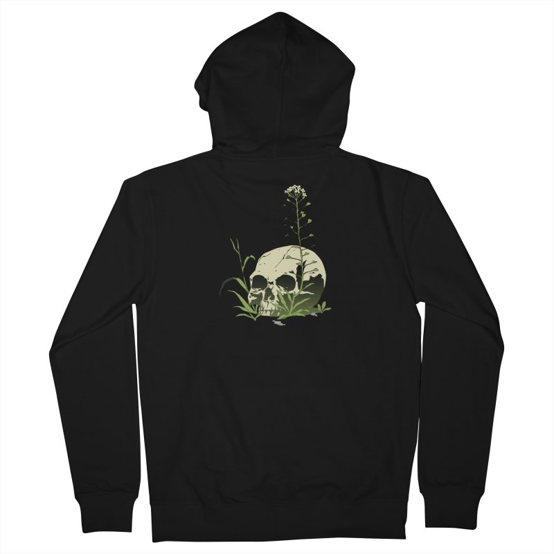 Dust to Dust Men's French Terry Zip-Up Hoody by automaton's Artist Shop