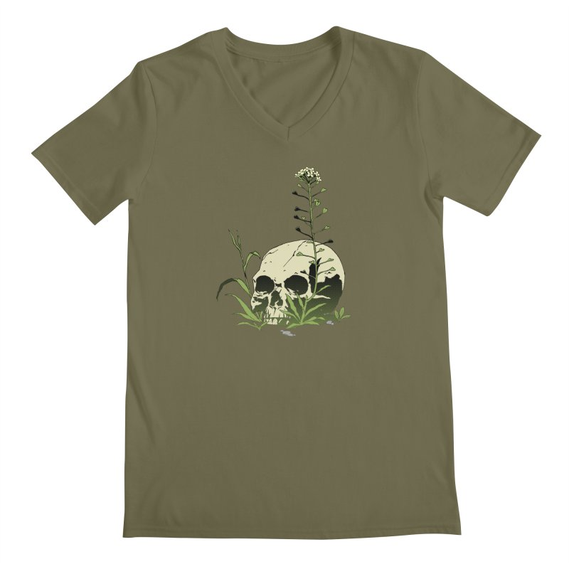 Dust to Dust Men's Regular V-Neck by automaton's Artist Shop