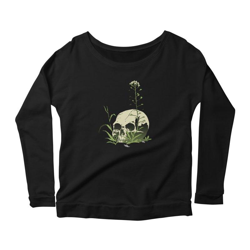 Dust to Dust Women's Scoop Neck Longsleeve T-Shirt by automaton's Artist Shop