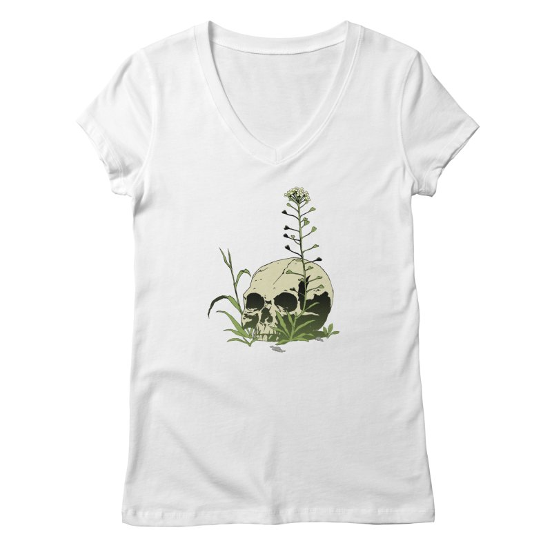 Dust to Dust Women's Regular V-Neck by automaton's Artist Shop