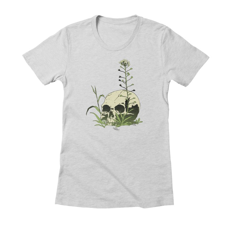 Dust to Dust Women's Fitted T-Shirt by automaton's Artist Shop