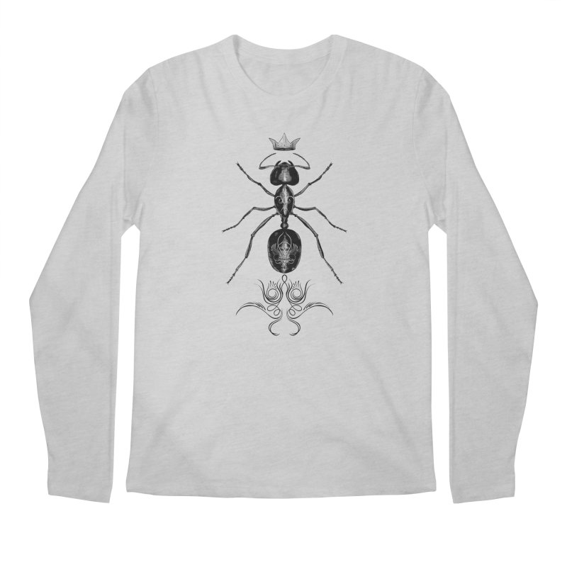 Sweeper Queen Men's Regular Longsleeve T-Shirt by automaton's Artist Shop
