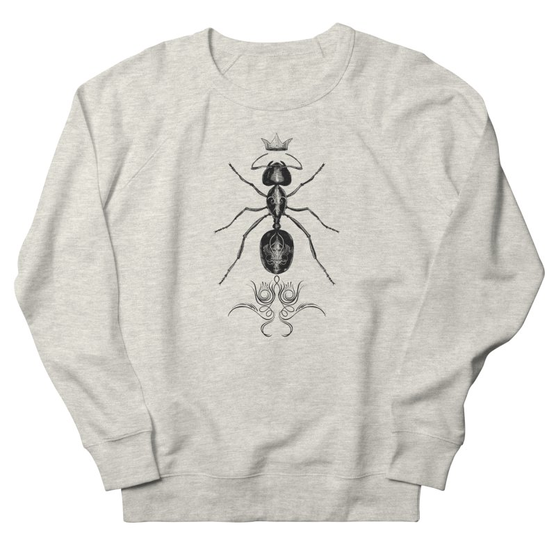 Sweeper Queen Men's French Terry Sweatshirt by automaton's Artist Shop