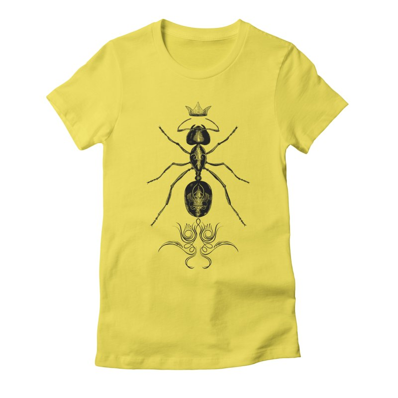 Sweeper Queen Women's Fitted T-Shirt by automaton's Artist Shop
