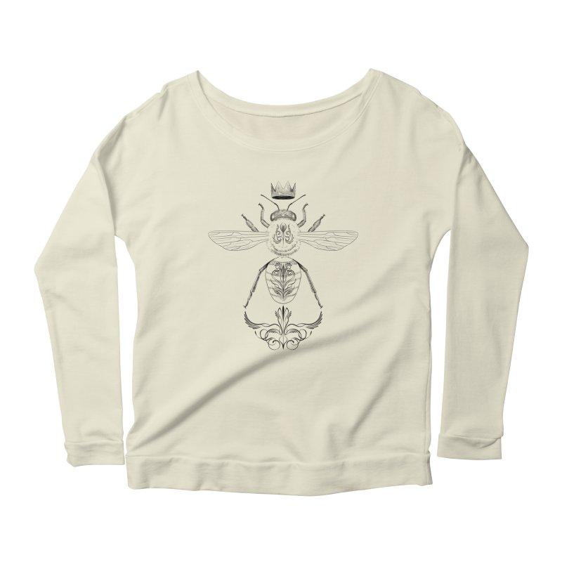 Sweet Queen Women's Scoop Neck Longsleeve T-Shirt by automaton's Artist Shop