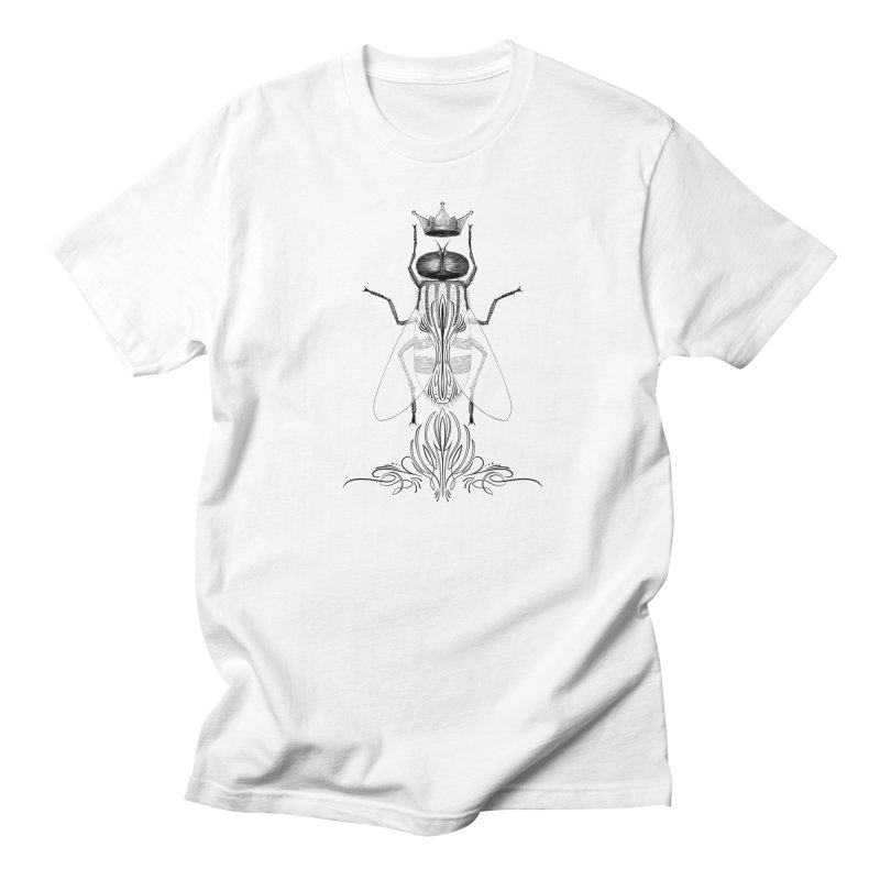 Carrion Queen in Men's Regular T-Shirt White by automaton's Artist Shop