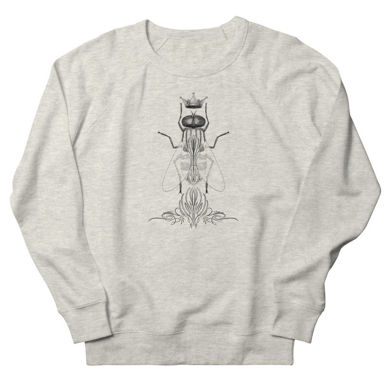 Carrion Queen Men's French Terry Sweatshirt by automaton's Artist Shop
