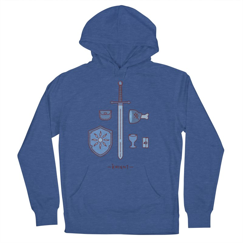The Knight Men's French Terry Pullover Hoody by automaton's Artist Shop