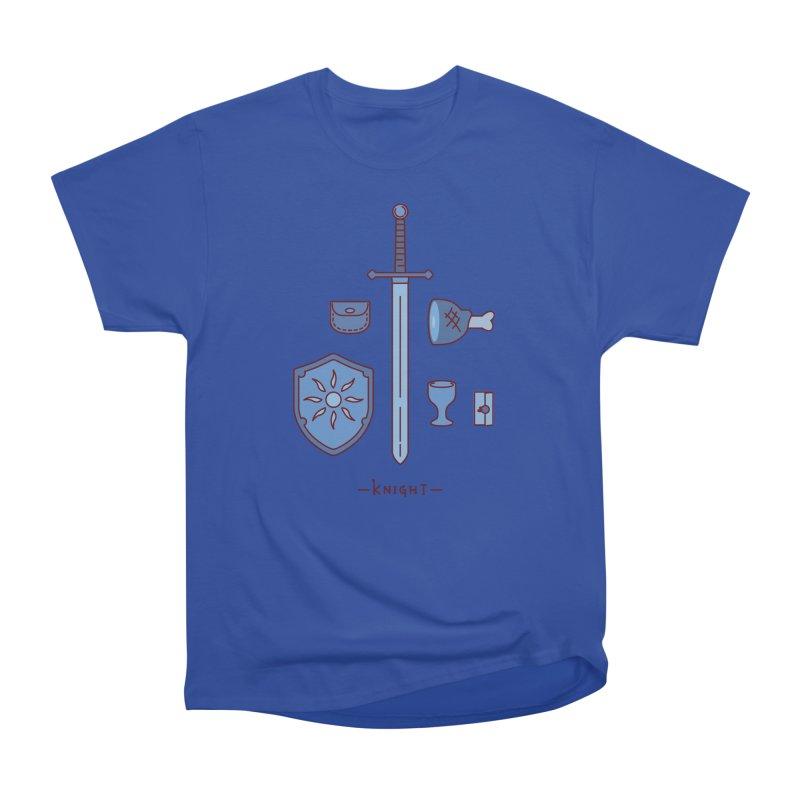 The Knight Men's Heavyweight T-Shirt by automaton's Artist Shop