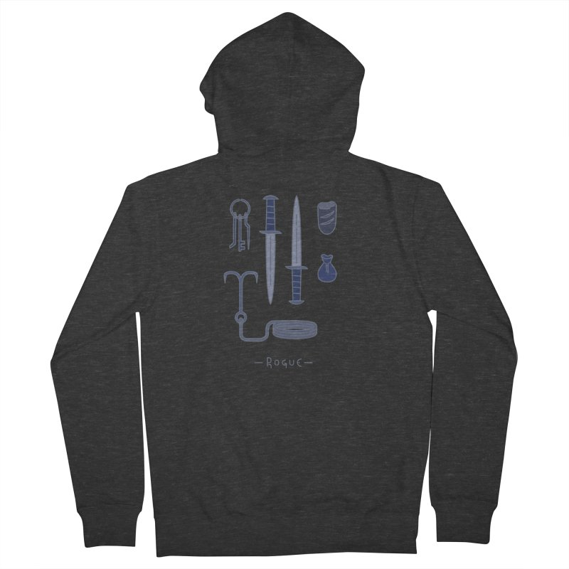 The Rogue Men's French Terry Zip-Up Hoody by automaton's Artist Shop