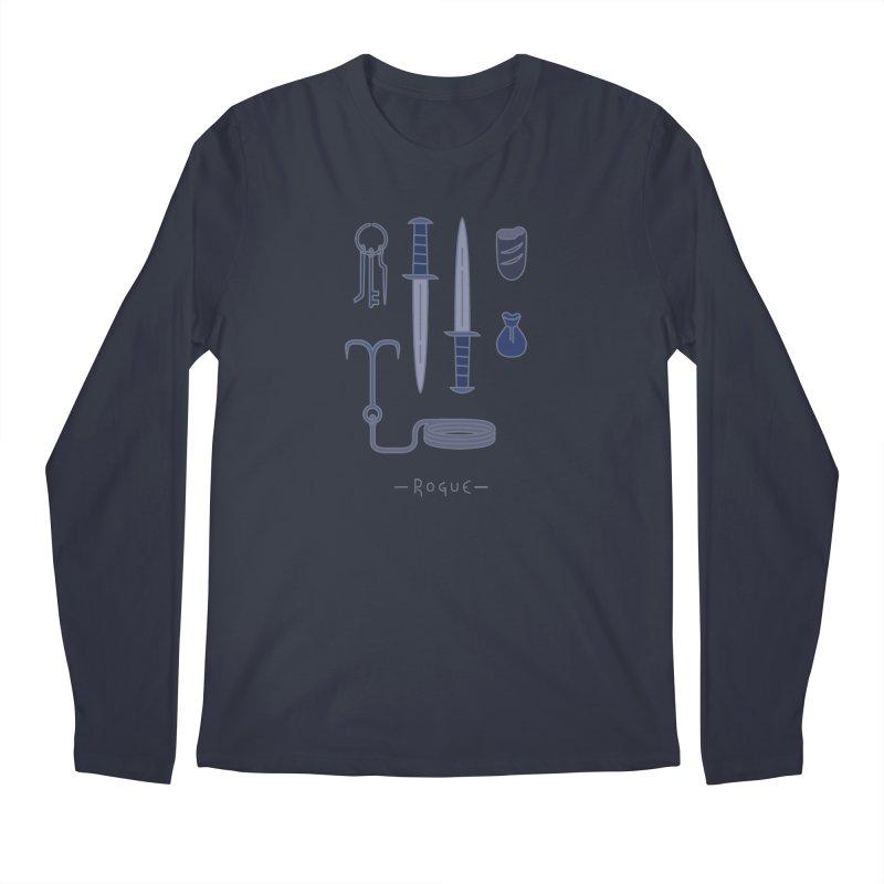 The Rogue Men's Regular Longsleeve T-Shirt by automaton's Artist Shop