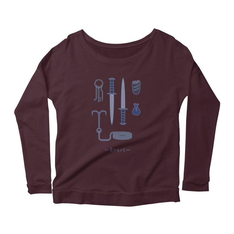 The Rogue Women's Scoop Neck Longsleeve T-Shirt by automaton's Artist Shop