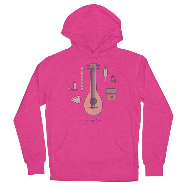 The Bard Men's French Terry Pullover Hoody by automaton's Artist Shop