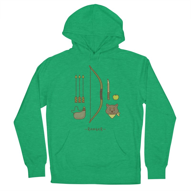 The Ranger Men's French Terry Pullover Hoody by automaton's Artist Shop