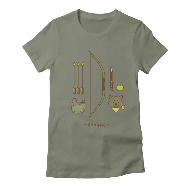 The Ranger Women's Fitted T-Shirt by automaton's Artist Shop