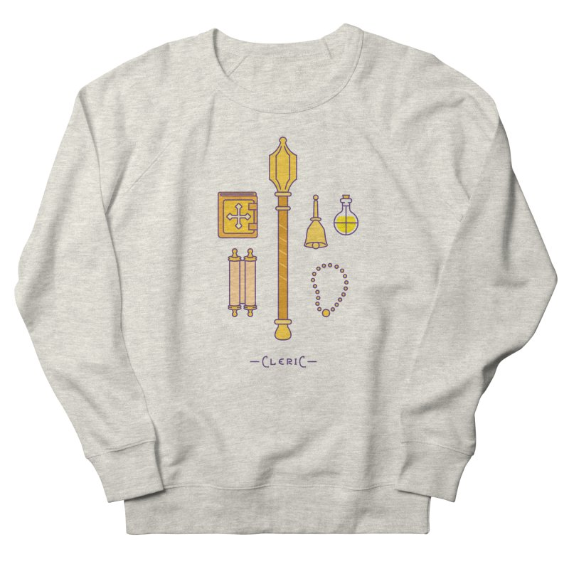 The Cleric Women's French Terry Sweatshirt by automaton's Artist Shop