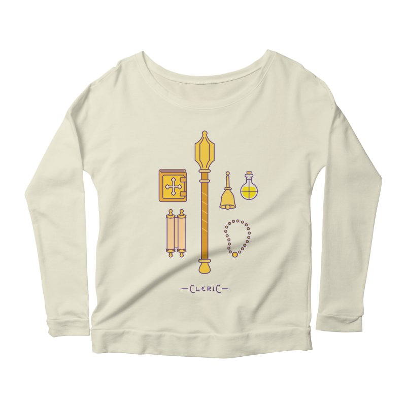 The Cleric Women's Scoop Neck Longsleeve T-Shirt by automaton's Artist Shop