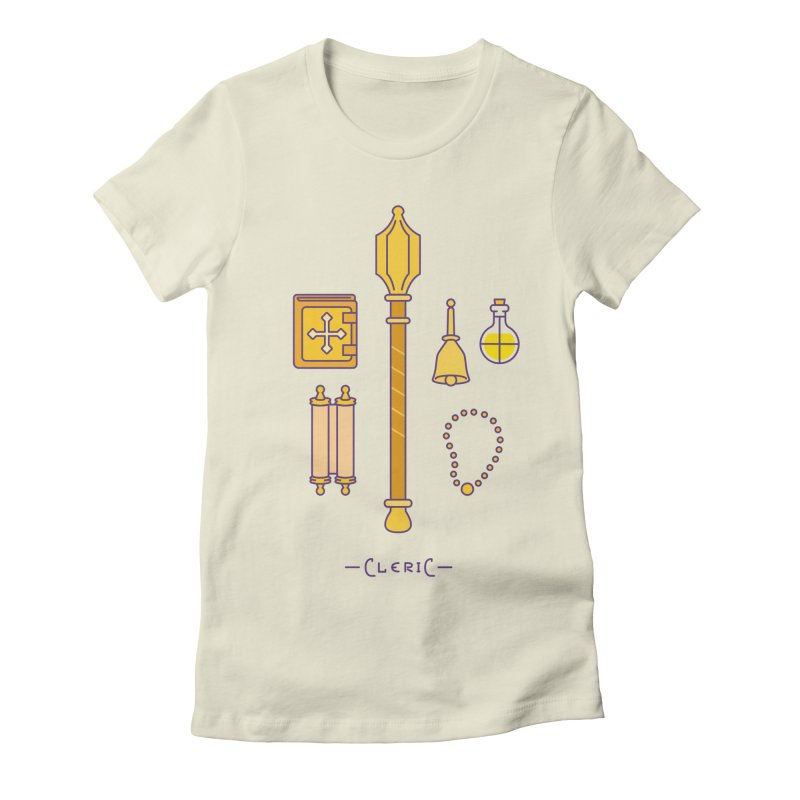 The Cleric Women's Fitted T-Shirt by automaton's Artist Shop