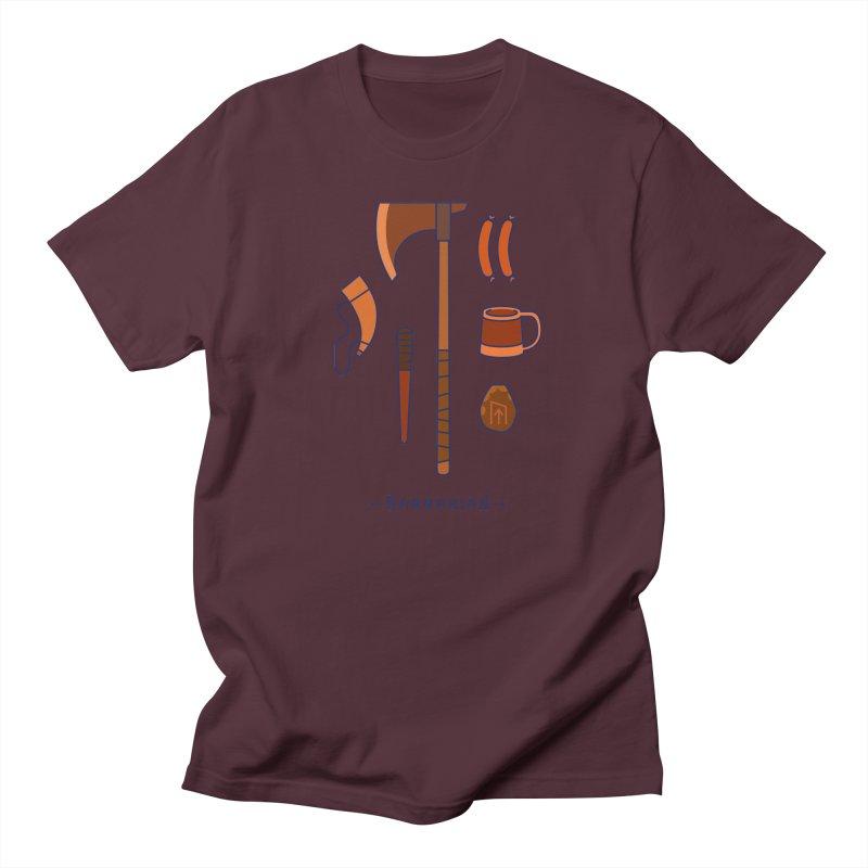 The Barbarian Women's Regular Unisex T-Shirt by automaton's Artist Shop