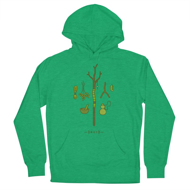 The Druid Women's French Terry Pullover Hoody by automaton's Artist Shop