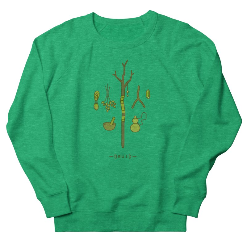 The Druid Men's French Terry Sweatshirt by automaton's Artist Shop