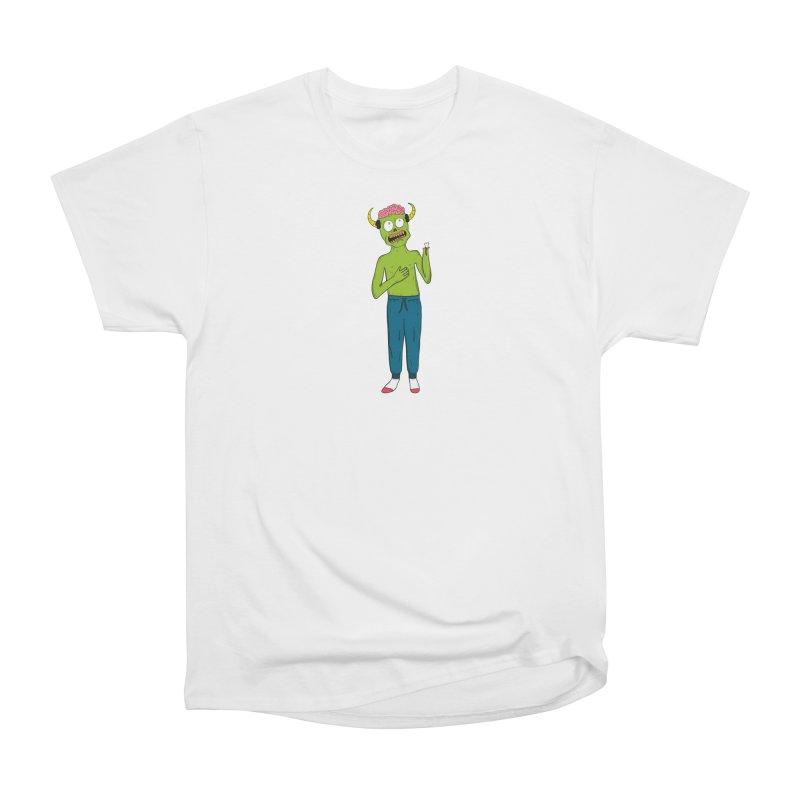 braaaiiiinnnnsss Men's Classic T-Shirt by rupkey's shirts & other shit