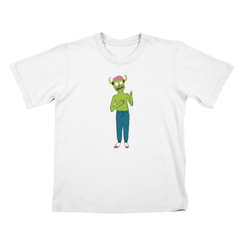 braaaiiiinnnnsss Kids T-Shirt by rupkey's shirts & other shit