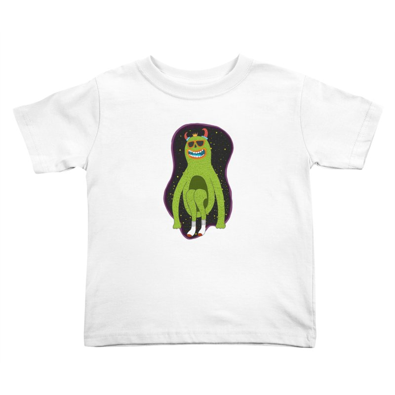spaced out Kids Toddler T-Shirt by rupkey's shirts & other shit