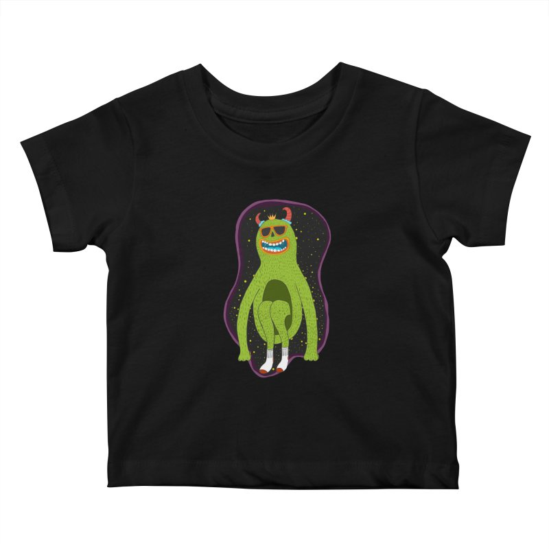 spaced out Kids Baby T-Shirt by rupkey's shirts & other shit