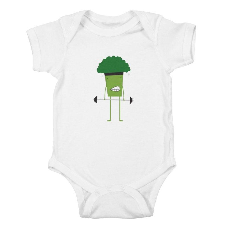 jacked! Kids Baby Bodysuit by rupkey's shirts & other shit