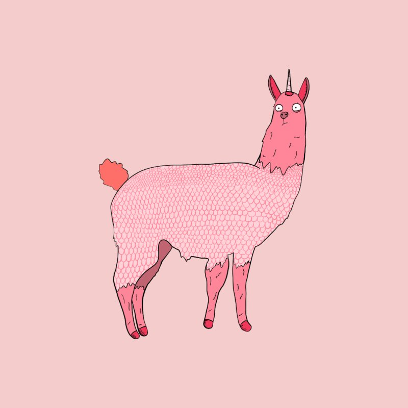 llamacorn Women's T-Shirt by rupkey's shirts & other shit