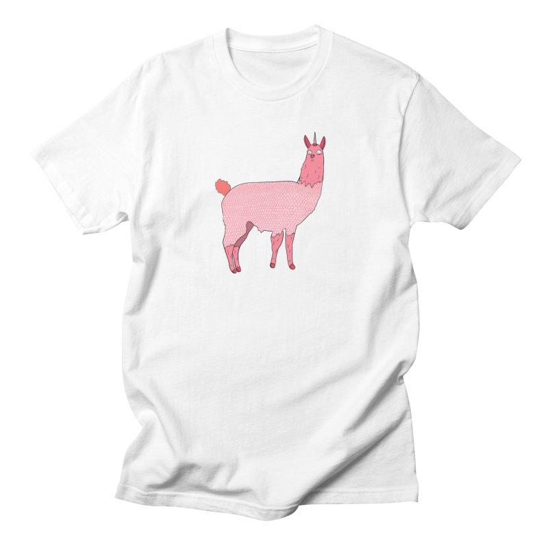 llamacorn Men's T-Shirt by rupkey's shirts & other shit