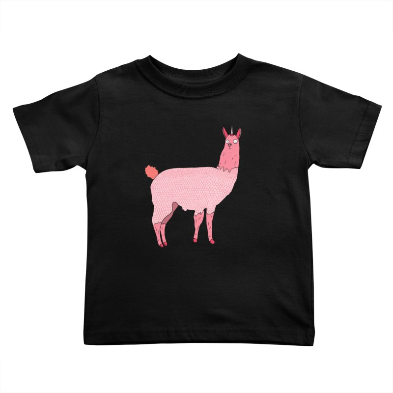 llamacorn Kids Toddler T-Shirt by rupkey's shirts & other shit