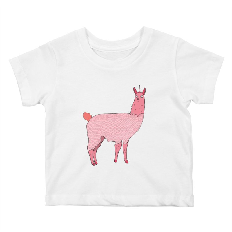 llamacorn Kids Baby T-Shirt by rupkey's shirts & other shit