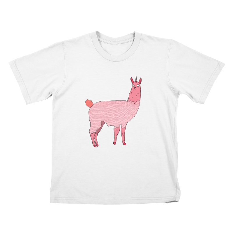 llamacorn Kids T-Shirt by rupkey's shirts & other shit