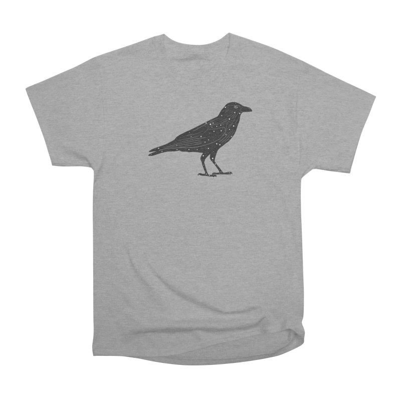 corvus. Women's Heavyweight Unisex T-Shirt by rupkey's shirts & other shit