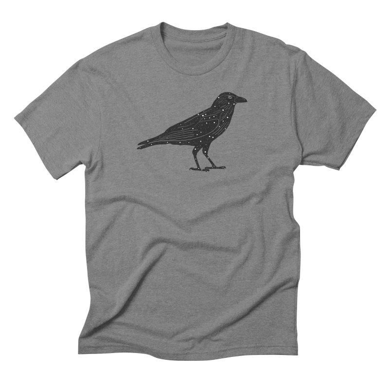 corvus. Men's Triblend T-Shirt by rupkey's shirts & other shit