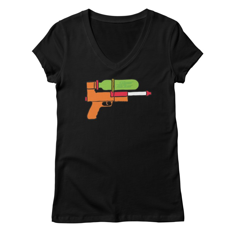 super fucker 2000 Women's Regular V-Neck by rupkey's shirts & other shit