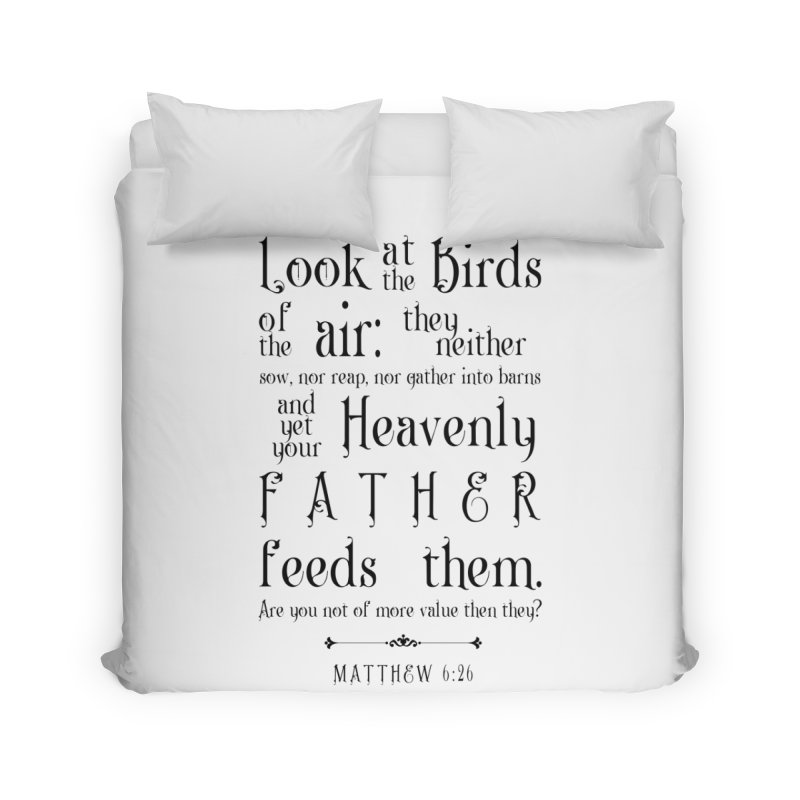The Birds of the Air Home Duvet by Avadel Designs